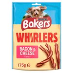 Bakers Whirlers Dog Treat Bacon & Cheese
