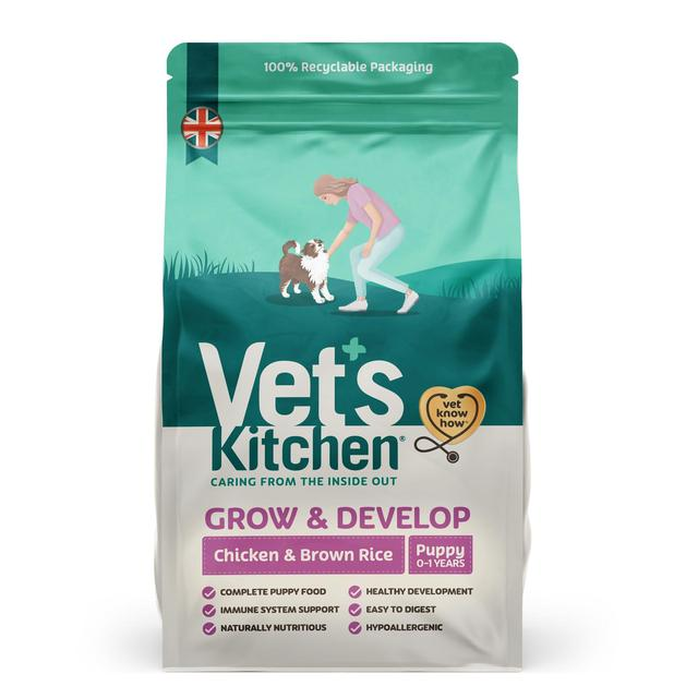 Vets Kitchen Puppy Chicken & Brown Rice