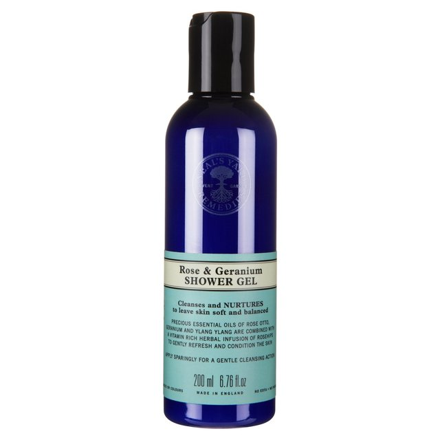 Neal's Yard Remedies Rose & Geranium Shower Gel