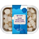 Ocado Raw Roeless Scallops