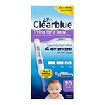 Clearblue Advanced Digital Ovulation Test Dual Hormone (20 per pack)