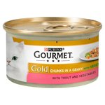 Gourmet Gold Trout & Vegetables in Gravy