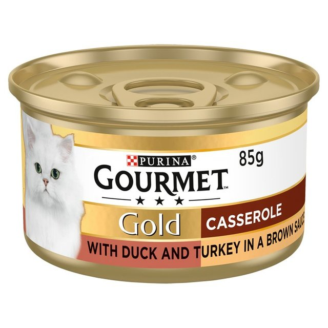 Gourmet Gold Cat Food Duck & Turkey Casserole