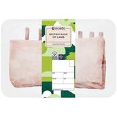 Ocado Gold British Rack of Lamb