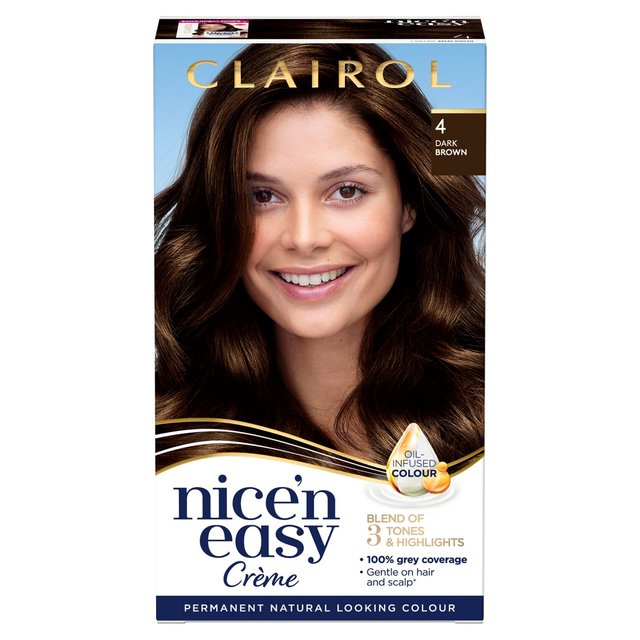 nice n easy hair dye natural dark brown 4 from ocado