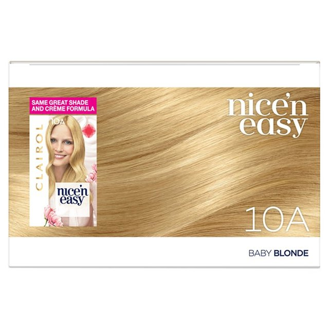 ... Nice N Easy Hair Dye Ultra Light Blonde 10