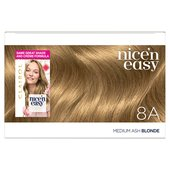 Nice n Easy Hair Dye Medium Ash Blonde 8A