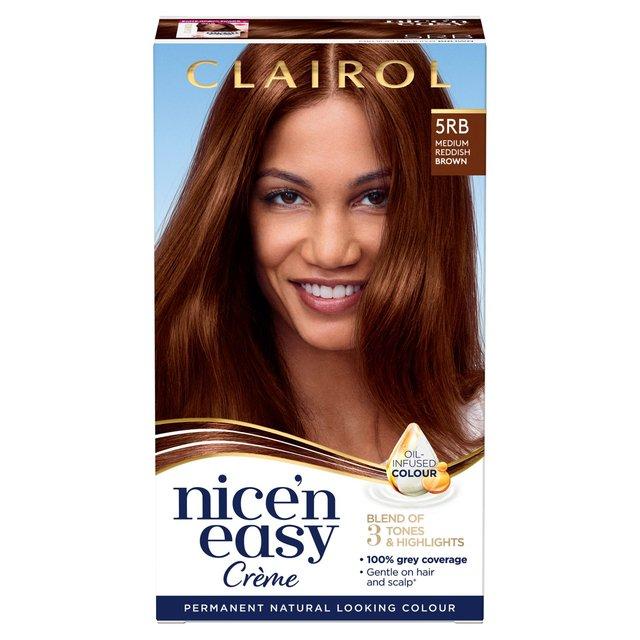 Nice N Easy Hair Dye Medium Reddish Brown 5rb From Ocado