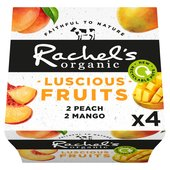 Rachel's Organic Luscious Fruits Peach & Mango