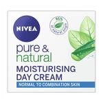 Nivea Pure & Natural Day Cream (Normal /Combination)