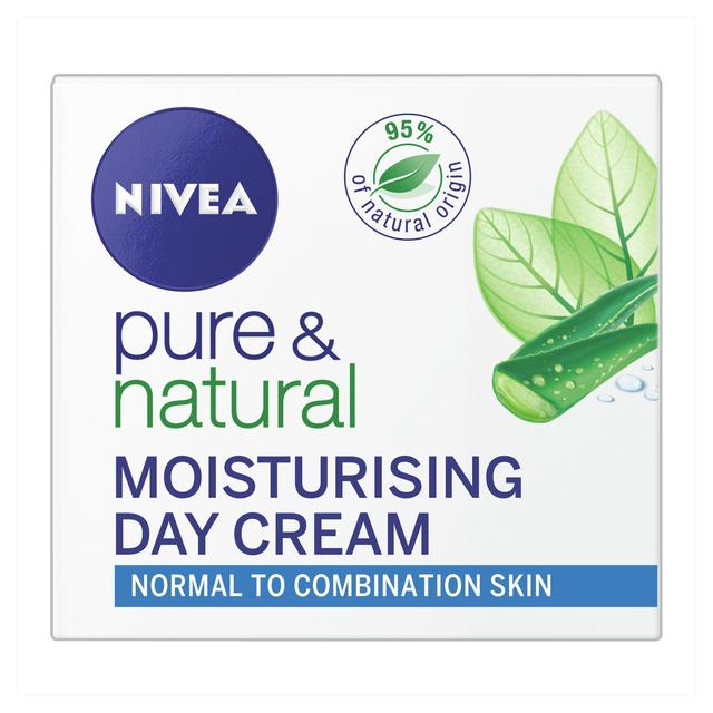 NIVEA Pure & Natural Face Cream