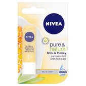 Nivea Pure & Natural Lip Balm