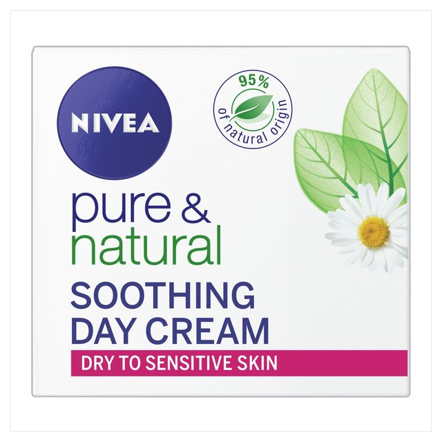 Nivea Pure & Natural Day Cream (Dry/Sensitive)