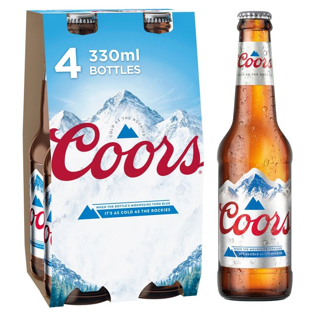 Coors Light Lager | Ocado
