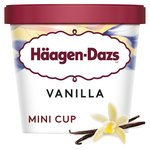 Haagen-Dazs Vanilla Ice Cream Mini Cup