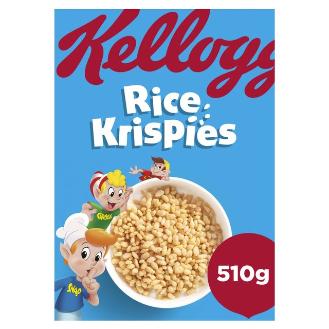 Rice Krispies: Kellogg's Rice Krispies 510g From Ocado