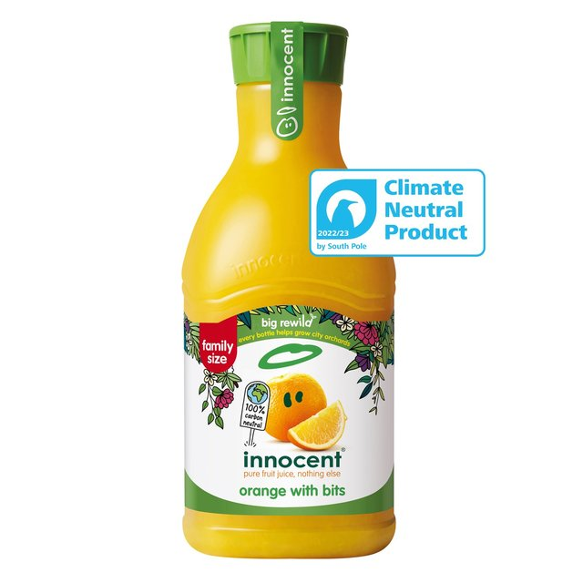 Innocent Orange Juice with Bits