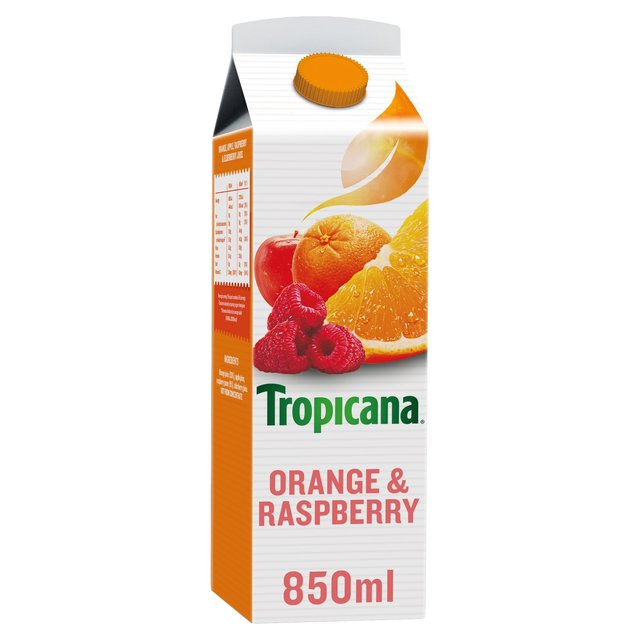 Tropicana Orange & Raspberry Juice