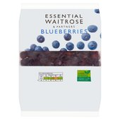 Frozen Blueberries essential Waitrose