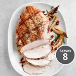 Essential Waitrose Basted Turkey Breast Joint with Smoked Bacon