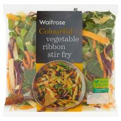 Waitrose Vegetable Ribbon Pan Fry