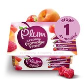Plum Baby Organic Fromage Frais