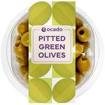 Ocado Pitted Green Olives