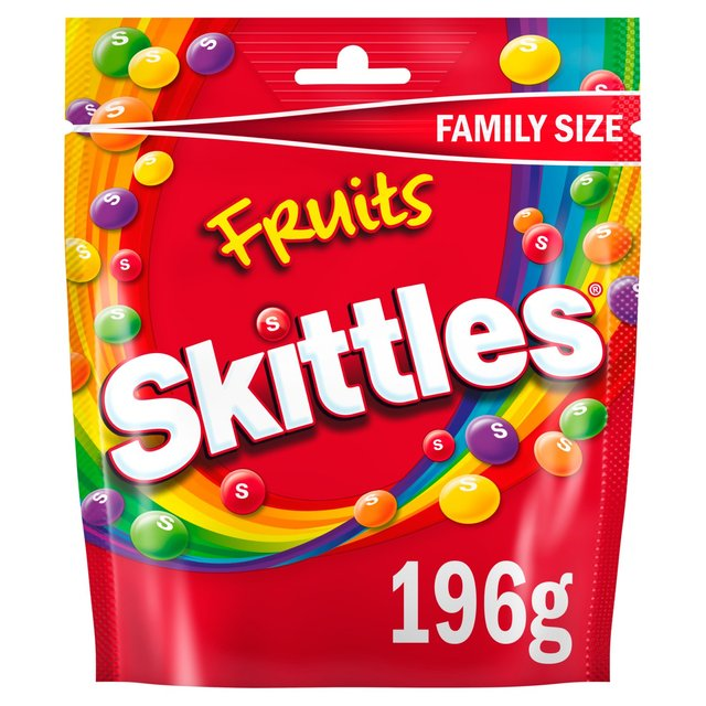Skittles Fruits Pouch 174g From Ocado