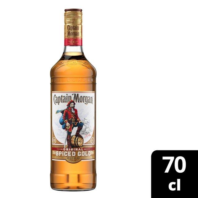 Captain Morgan's Spiced Rum 70cl from Ocado