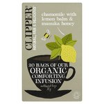 Clipper Organic Infusion Chamomile with Lemon Balm & Manuka Honey Tea Bags