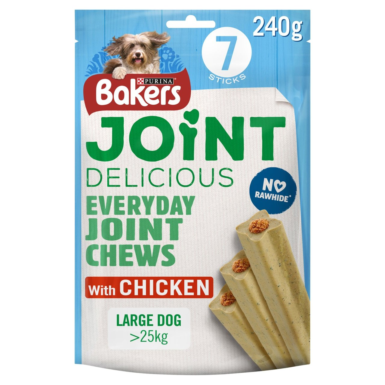 An image of Bakers Joint Delicious Large Dog Treats Chicken