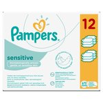 Sensitive Baby Wipes 12 x 56 per pack