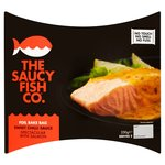 Saucy Fish Co. Salmon With Sweet Chilli Dressing