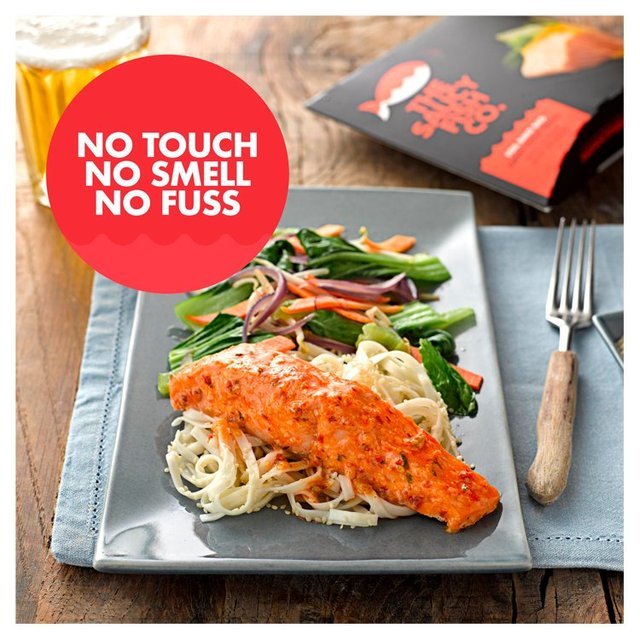 Saucy fish co salmon with sweet chilli dressing 270g from for Fish co
