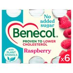 Benecol Cholesterol Lowering Yogurt Drink Raspberry No Added Sugar