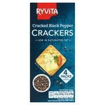 Ryvita Crackers with a Hint of Black Pepper