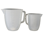 Metaltex Plastic 1L & 2L Measuring Jugs