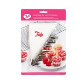 Tala Icing Bag Set & 8 Stainless Steel Nozzles