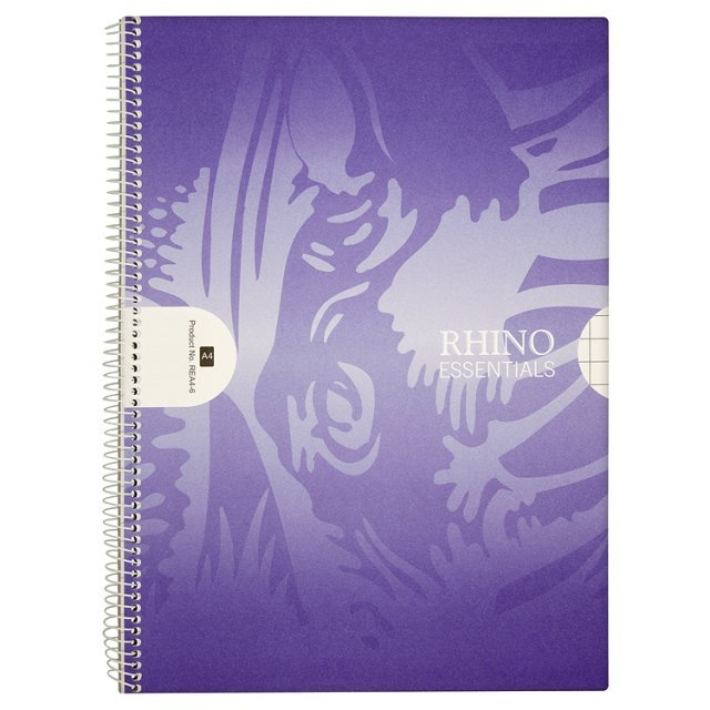 Rhino Essentials 100 page A4 Spiral Book