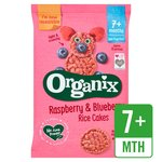 Organix Raspberry & Blueberry  Rice Cakes