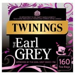 Twinings Earl Grey Tea, 160 Tea Bags