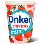 Onken Biopot Fat Free Strawberry Yogurt