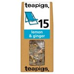 Teapigs Lemon & Ginger Tea Bags
