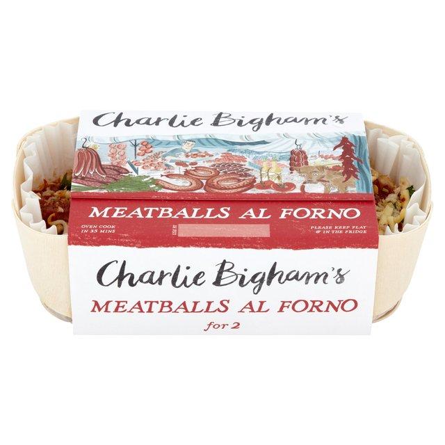 Charlie Bigham's Meatballs Al Forno for 2 650g from Ocado