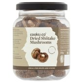 Cooks & Co Dried Shiitake Mushrooms