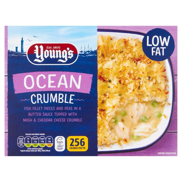 Young's Ocean Crumble Light & Easy Low Fat Frozen