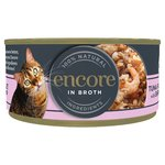 Encore Wet Cat Food Tin, Shrimp & Tuna