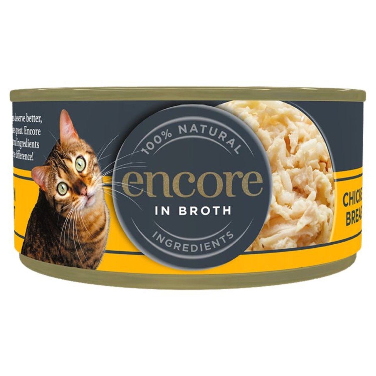 An image of Encore Cat Tin Chicken