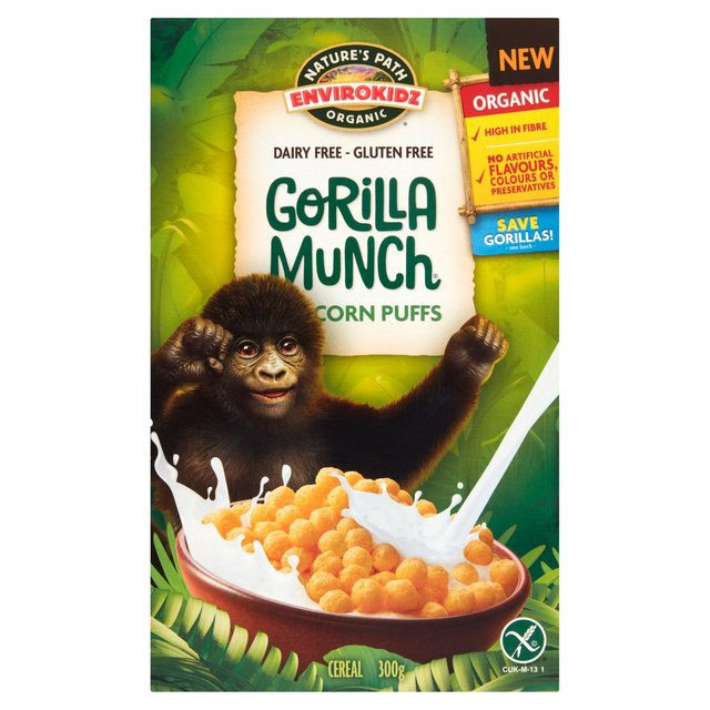 Natures Path Gluten Free Organic Cereal Gorilla Munch