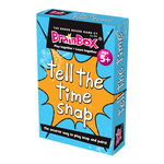 BrainBox Tell the Time Snap Card Game, 5yrs+